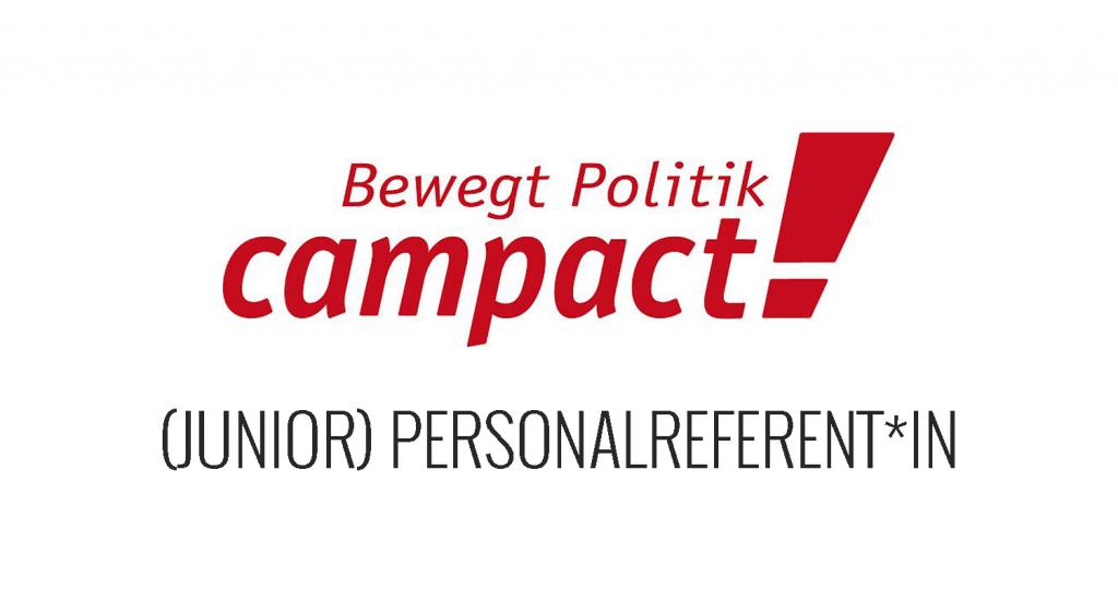 Job- Junior Personalreferent-in bei Campact